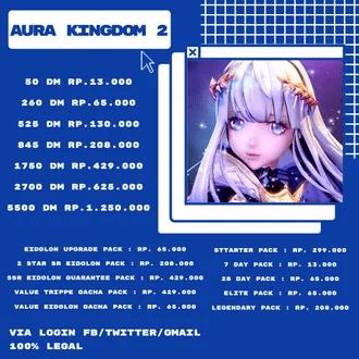 Aura Kingdom Rp.13.000