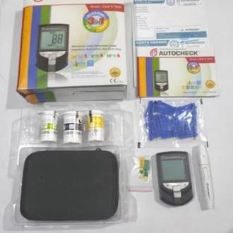 Auto check kolesterol-gula-asam urat Rp 199.500
