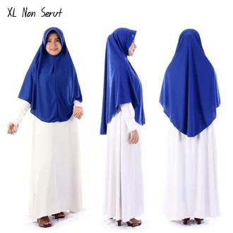 Jilbab serut XL Rp.29.200