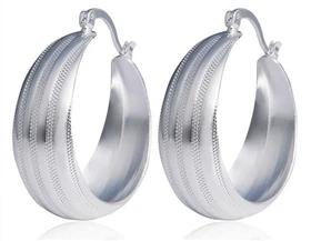 Silver Plate Earings Rp 29.563