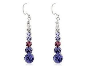 Vertical Earings Crystal Rp 88.985