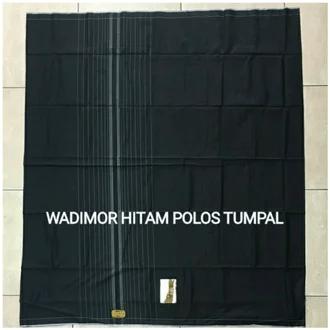 sarung wadimor hitam polos Rp.48.000