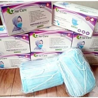 Masker hijab 3ply Rp 19.000