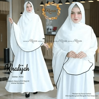 Syari Set Hijab Dress Baju Rp.140.000