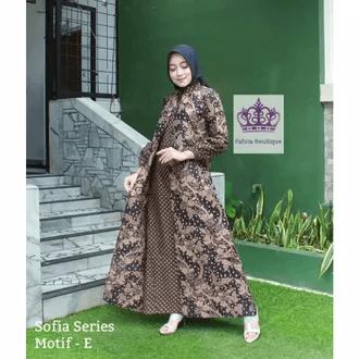 Gamis batik CIKITA GENES Rp.186000