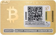 Ballet Real Bitcoin, 24K Gold-Plated $99.00