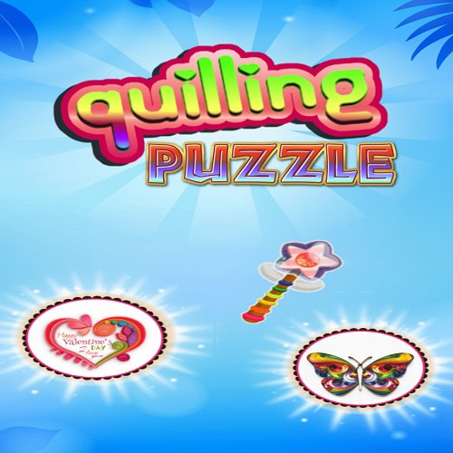 Quilling puzzle free games