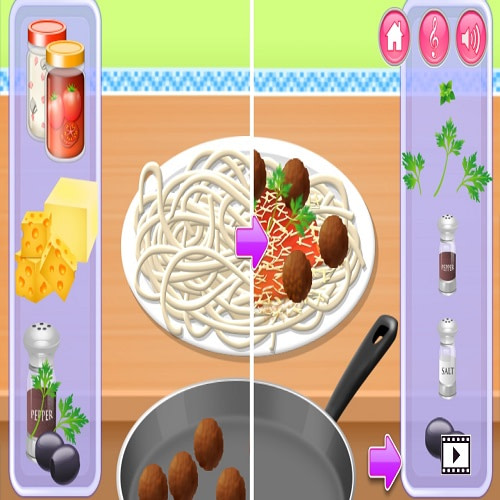 Cooking in the kitchen free app
