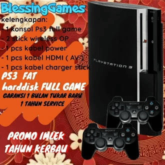 PS3 fat 120GB Rp.1,099,000