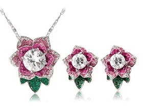 Necklace Earings Set Rp 207.829