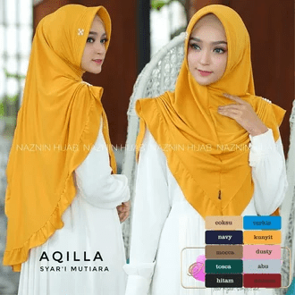 Hijab mutiara Rp.25.900