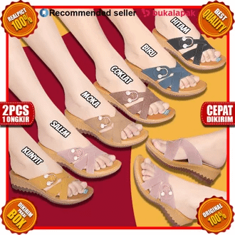 Sandal flat Rp.46.400